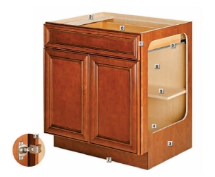 Americana cabinets mf cabinets for American made kitchen cabinets